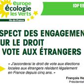 etrangers. droit de vote - Repères contre le racisme, pour la diversité et la solidarité internationale