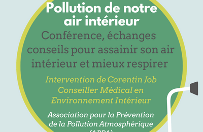CONFERENCE POUR ASSAINIR SON AIR INTERIEUR