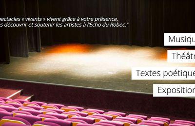 Théâtre de l'Echo du Robec - Newsletter octobre 2020