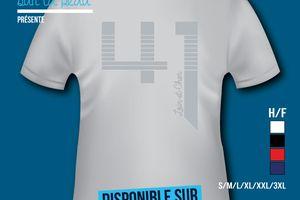 T-shirt: France - Centre - Loir et Cher 41.