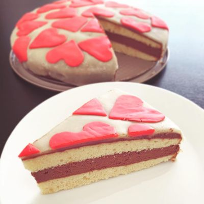 Gâteau à la pâte d'amande