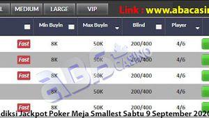 Bocoran Jackpot Poker Sabtu 5 September 2020