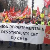 Social - L'union départementale CGT défile aussi ce samedi à Bourges