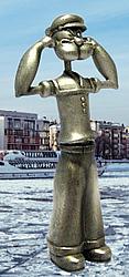 Tire-bouchon Popeye le marin