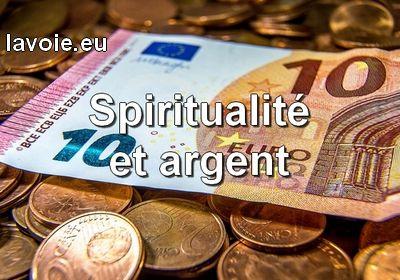 Spiritualité et argent