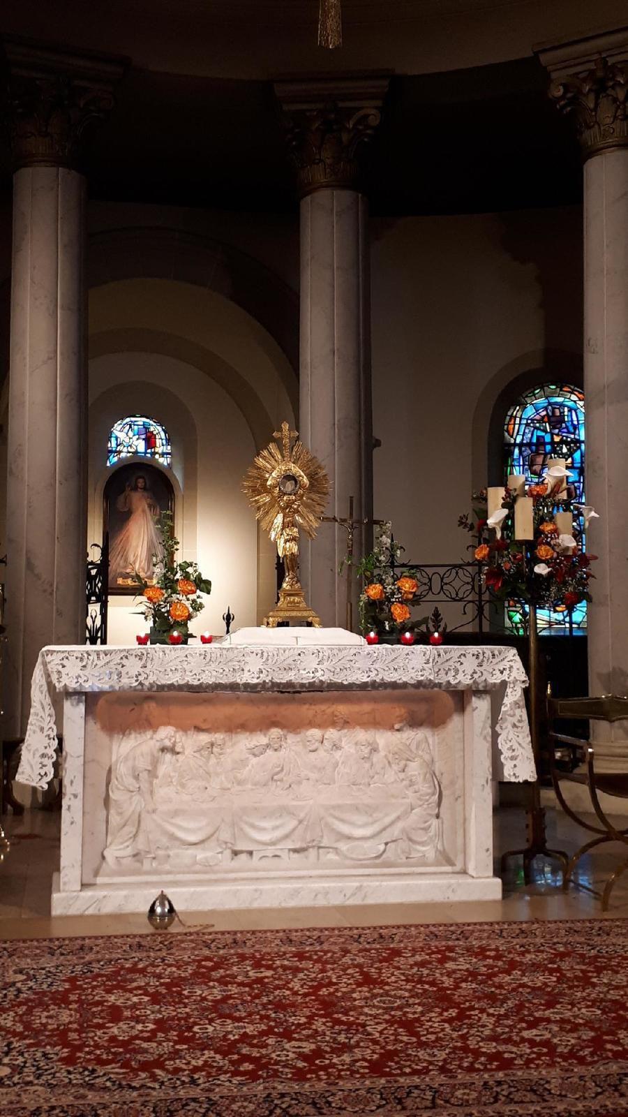 Homélie du 6 juin 2021 (Saint Sacrement).