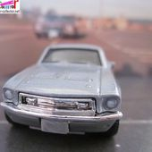 FORD MUSTANG GT CS 1968 MATCHBOX 1/64 - car-collector.net