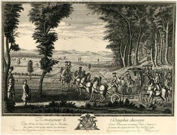 Versailles - Appartements, chasse et Lever du Roi