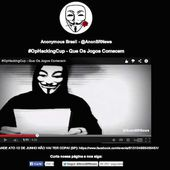 Anonymous Brazil kicks off anti-World Cup protest, defaces websites