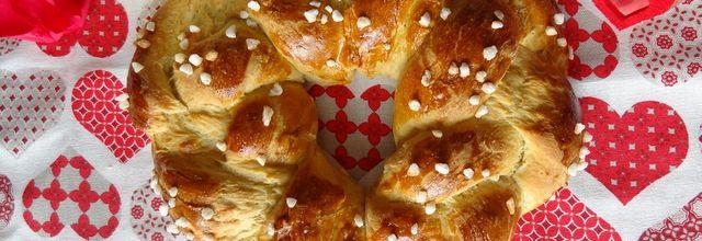Coeur de brioche aux épices et au gingembre confit : la Flachchswickel