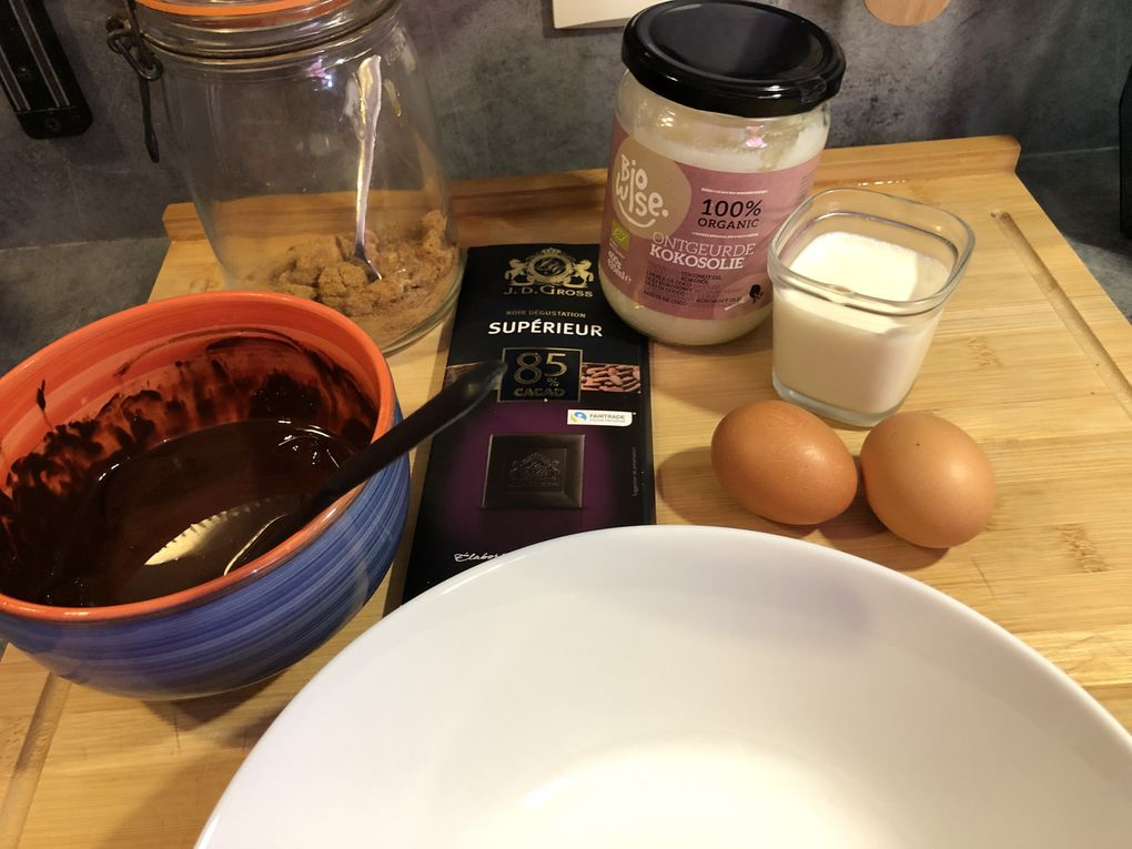 Coulants au chocolat healthy