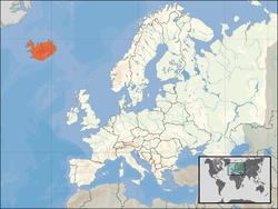 Islando : giganta manifestacio en Rejkjaviko