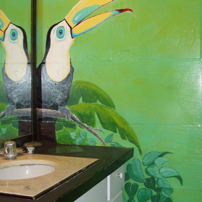 The Birds Bathroom