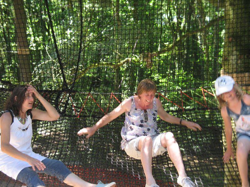 Journée détente du GVA de Questembert au parc de Branféré et la soirée chez un adhérent