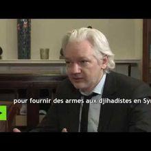 Julian Assange accuse Hillary Clinton d'avoir fourni des armes aux djihadistes syriens