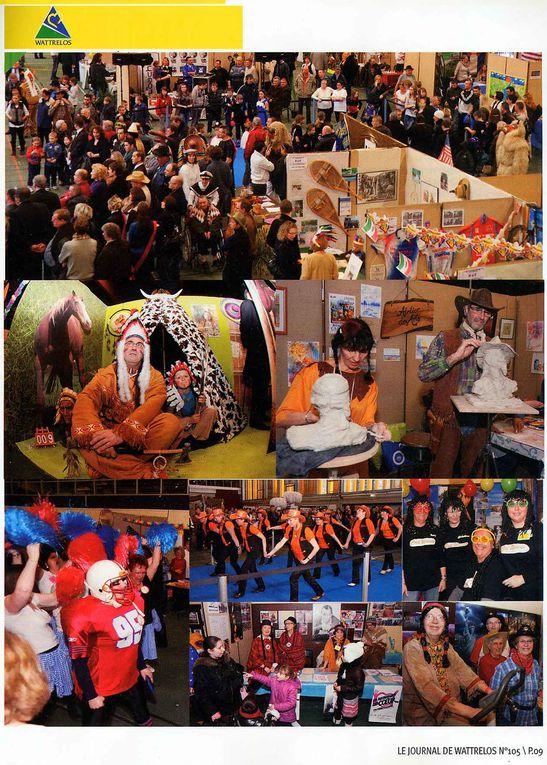 AQUA-CLUB 59 et plus de soixante dix associations wattrelosiennes, présentent leurs activités au public.  Cette grande manifestation est organisée bisannuellement par la ville de Wattrelos, dans la salle Roger Salengro. L'ambiance y est excellente