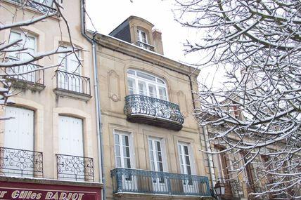 Quartier centre ville : la rue du général André Demetz.