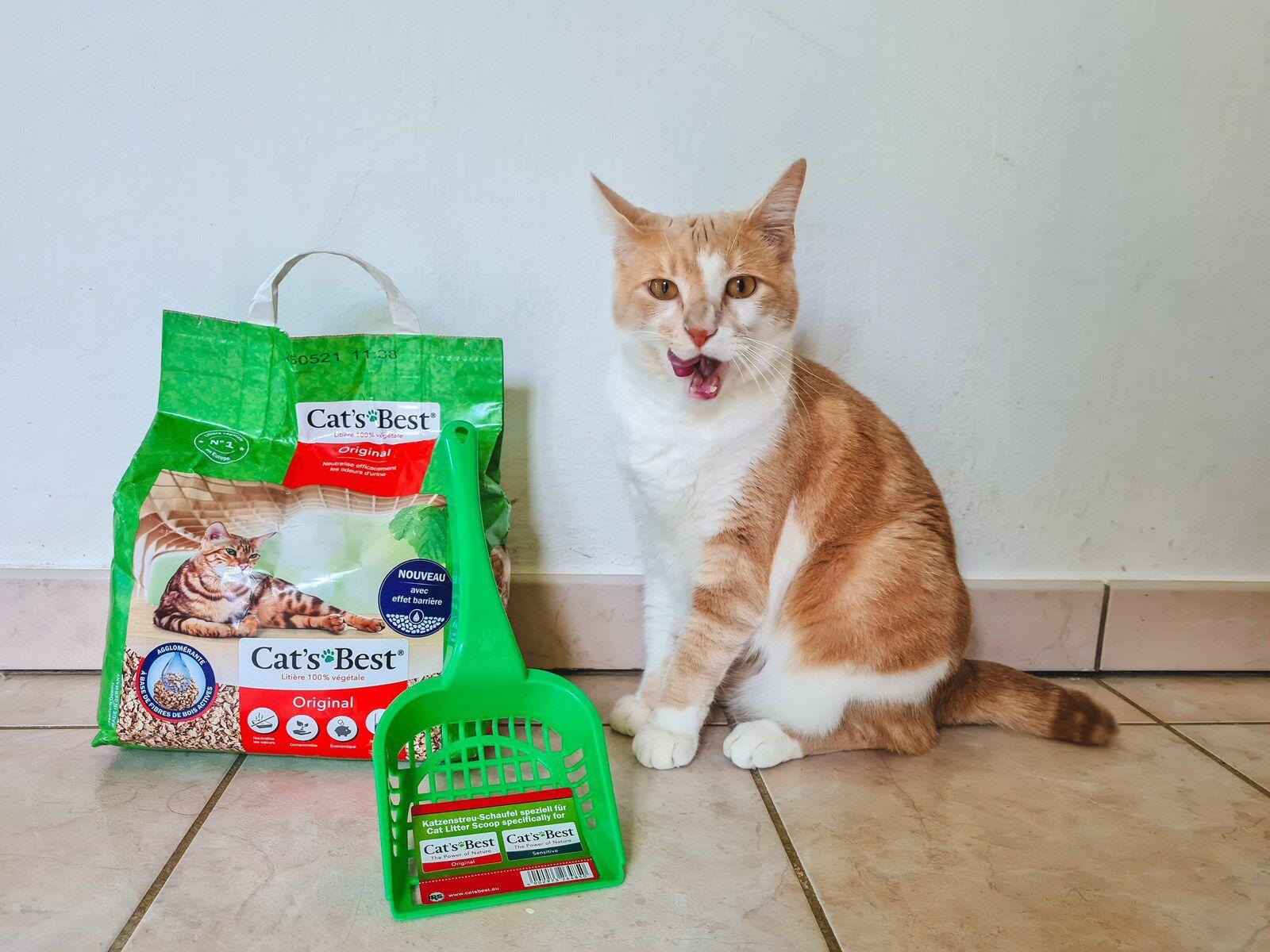 Litière végétale pour chat Cat's Best