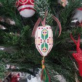 Déco Sapin de Noël 2020 : Fuseau Toupie 1 - Chez Mamigoz
