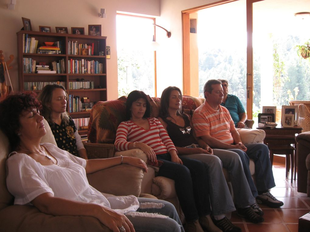 Taller de Respiración en el Peñol-Guatape en casa de nuestros amigos Zoe y amaro el cual aprovechamos para el disfrute total.