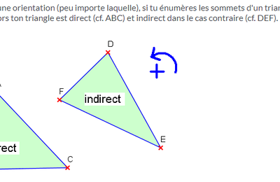 TRIANGLE DIRECT OU INDIRECT ?