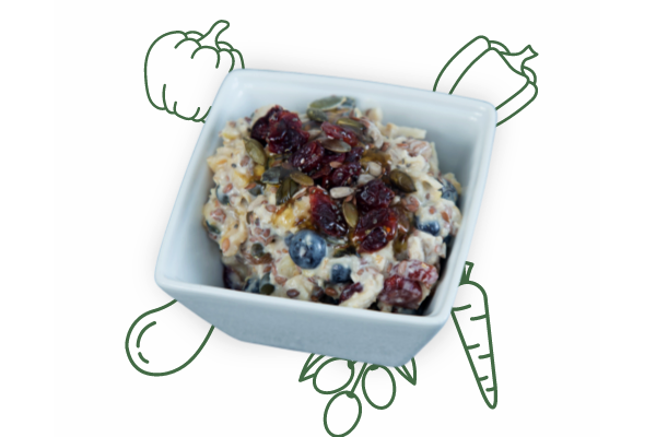 Healthy Food London | Special Bangin Overnight Oats | Plant Sumo