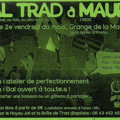 Bal Trad ce soir à Maurs