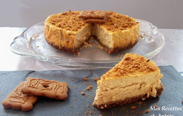 CHEESE CAKE A LA CHICOREE ET AUX SPECULOOS