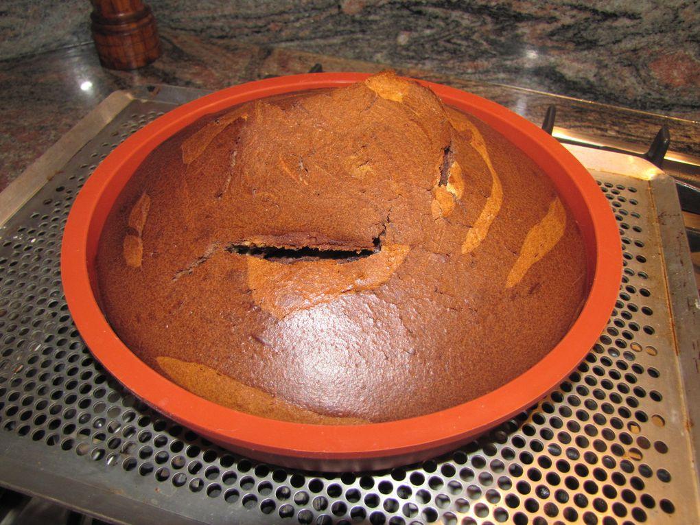 Gâteau marbré (à la boîte)