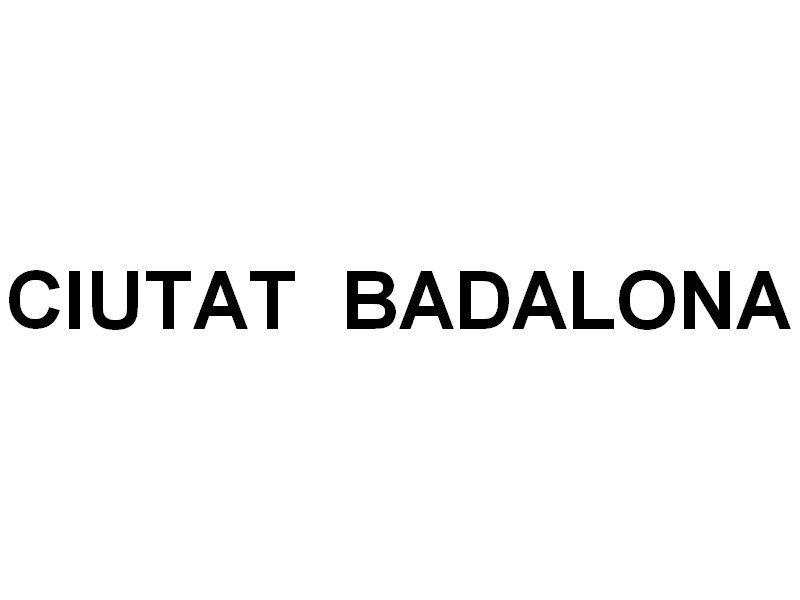 CUITAT  BADALONA