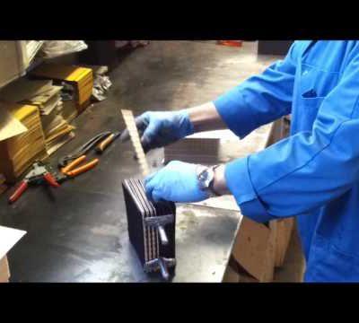 fabrication d'une batterie a l'ancienne