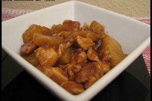 poulet à l'ananas sauce aigre-douce