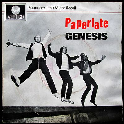 Genesis - Paperlate / You might recall- 1982