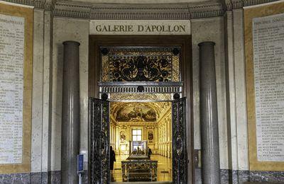 Le Louvre - La galerie d'Appolon.
