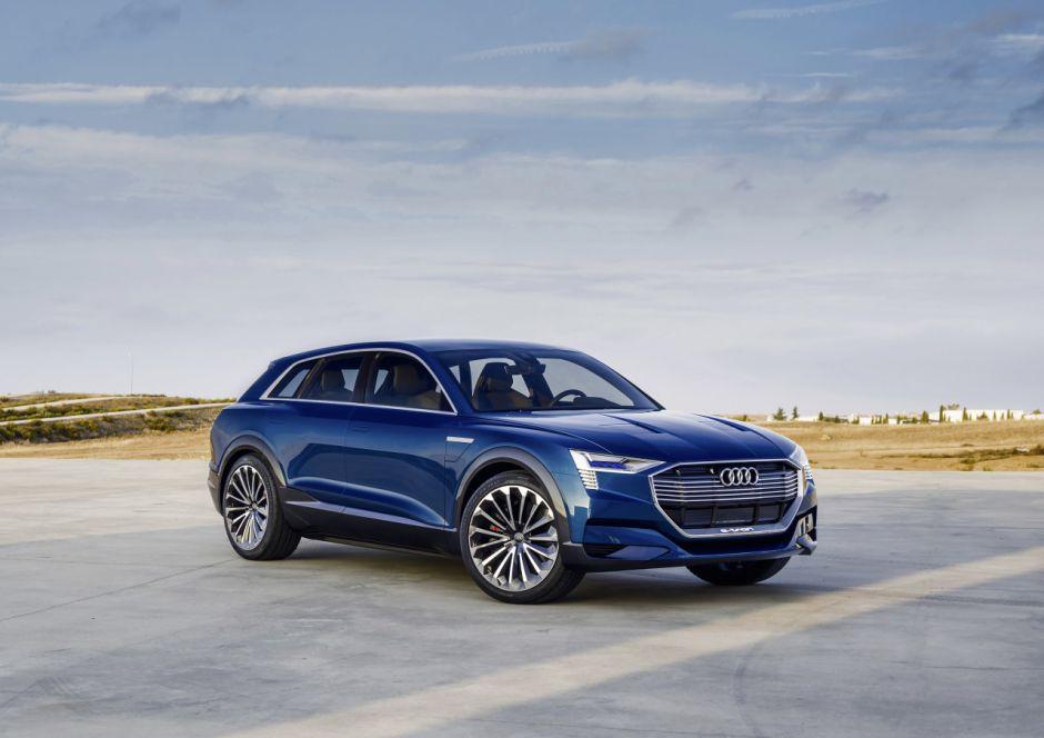Un Audi Q6 100 % électrique qui se fait attendre. Il sera produit en Belgique à partir de 2022...
