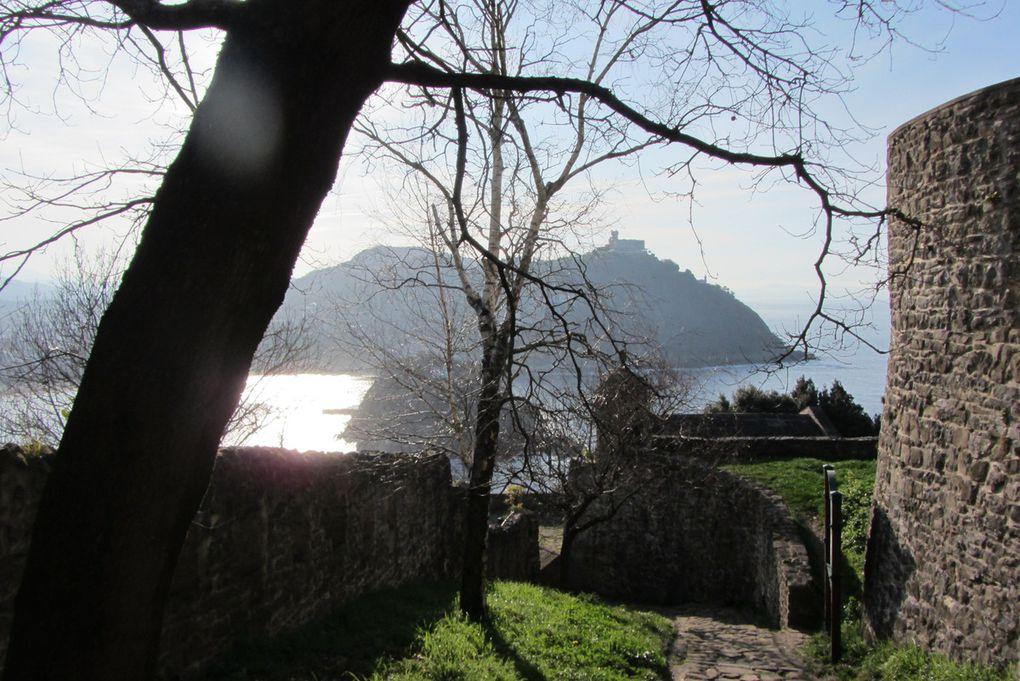 San Sebastian - vues du mont Urgull.