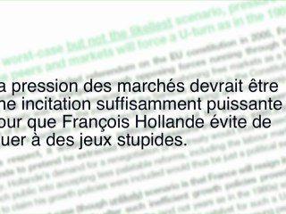 Entre le peuple et la finance, François Hollande choisira la finance