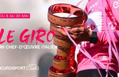 Cyclisme - Le Giro à suivre en intégralité et sans interruption sur Eurosport