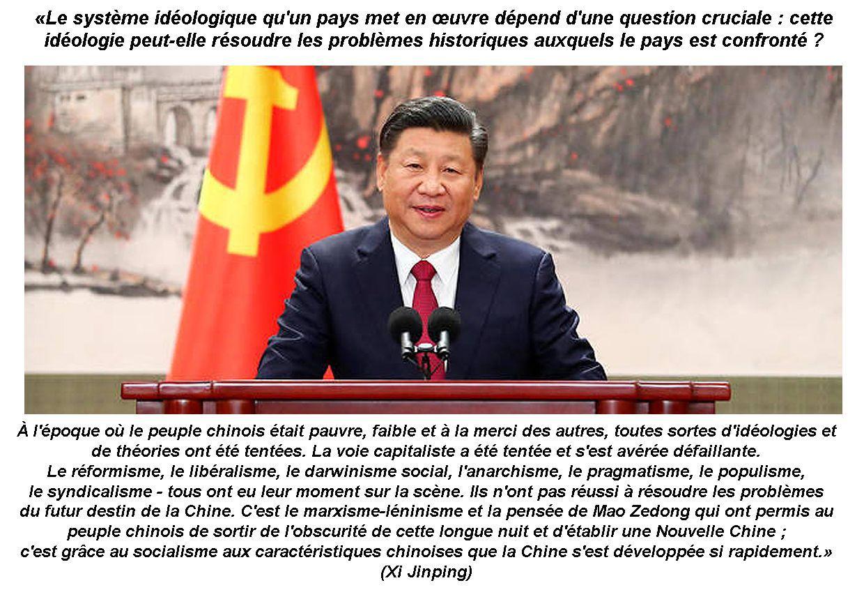 «Maintenir et développer le socialisme avec des caractéristiques chinoises» (Xi Jinping)