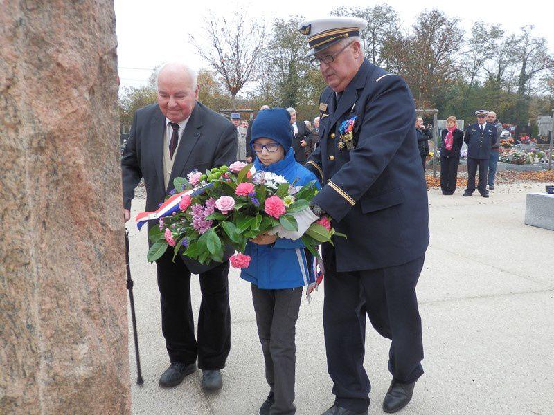 Cérémonie du Souvenir à Neuf Brisach le 2 novembre