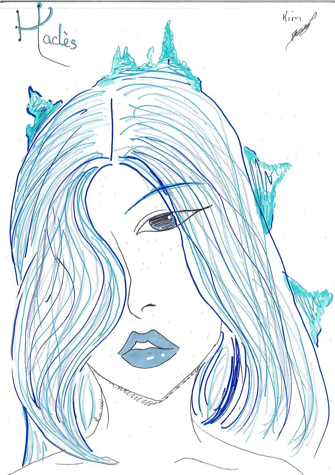 """La hotte à dessins (9/16) : N° spécial """"Kim Lou"""""""