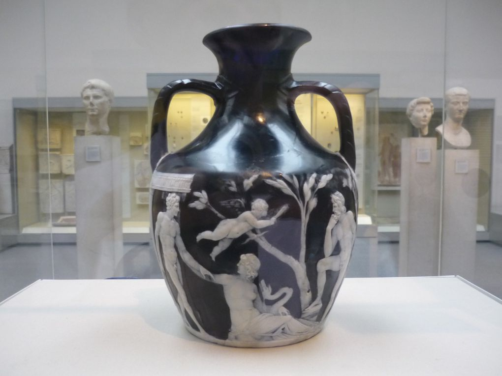 The Portland Vase, Cameo glass, probably made in Rome, about 15 BC – AD 25