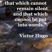 Victor Hugo - English - 4 Quotes - La vache rose