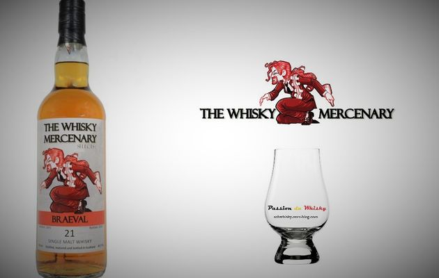 Braeval 21Y 'The Whisky Mercenary'