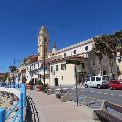 Santo Stefano al Mare (IM), Lungomare Gerolamo da Santo Stefano