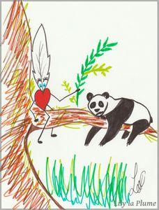 Le Panda 2 par Lily la Plume