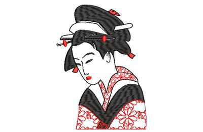 BRODERIE FEMME CHINOISE