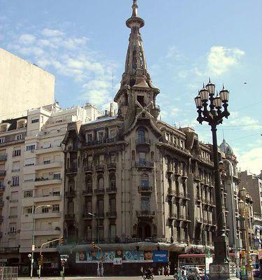 Confiteria del Molino (Quartier de Balvanera - Buenos Aires)