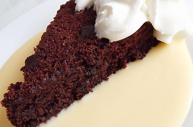 Gâteau aux pépites de chocolat et lait de soja