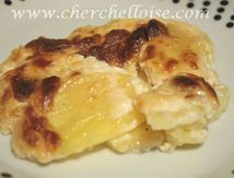 gratin dauphinois, recette d'accompagnement